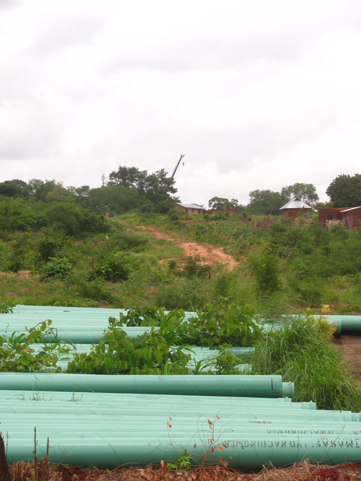 Water Pipes for Masasi town