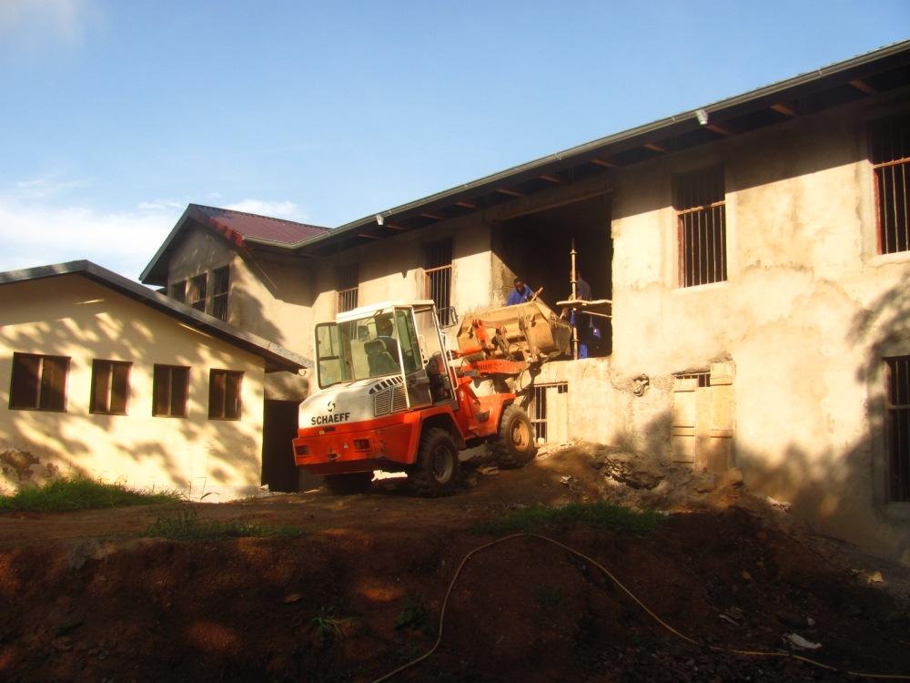 Building Nurses accommodation